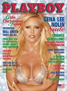 Playboy magazine cover December 2001