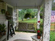 ~ farmhouse porch