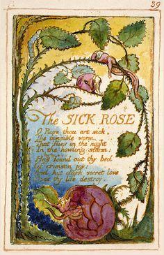 The Sick Rose, William Blake.