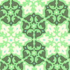 Amy Butler - Daisy Chain - Mosaic in Green