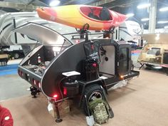 Love the rack on top.  Need to add the piece from my Yakima rack to be able to benefit from this.  Need a kayak too!
