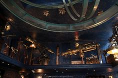 One of the new shops at Diagon Alley in Universal Orlando, decorated with lots of brass and gadgets. LOVE.