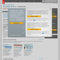 Adobe Acrobat - Collect and organize different types of documents, presentations and video into a professional portfolio