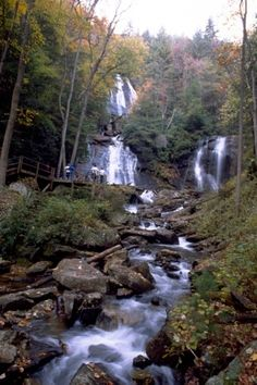 Anna Ruby Falls in Helen, GA // hubby and I spent a week here one year for our anniversary. Beautiful place