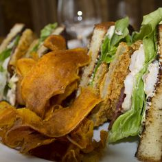 ... BLT with the addition of delicious fried green tomatoes and shrimp