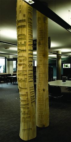 Typographic Tree by Gordan Young and Why Not Associates