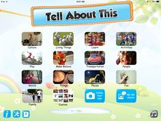 The NEW app @TellAboutThis Offers: A Creative Way to Inspire and Capture Children's Ideas or Stories!