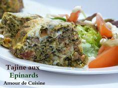 tajine aux epinards - cuisine algerienne