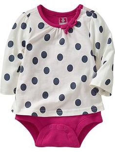 2-in-1 Tee Bodysuits for Baby | Old Navy  14.94