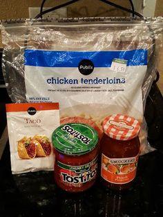 Spicy Peach Chicken - Four Ingredient Recipes!