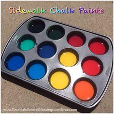 Sidewalk Chalk Paints