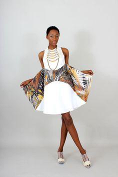 Winged Safari Dress
