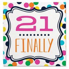 21 Finally 21st Birt