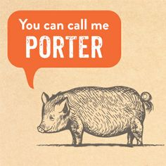 Say hello to Porter the Pig! He's new to Temecula. http://www.temeculacreekinn.com/cork-fire-kitchen/porters-journey/