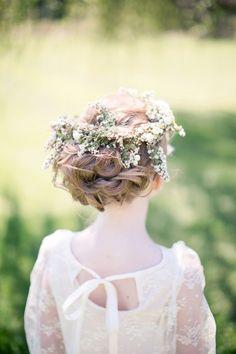 flower girl crowns | Watson Studios #wedding