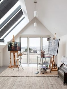 Could be my studio - if it (my room) had more windows and less clutter :)