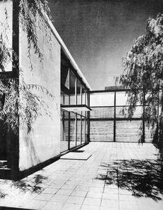 Casa Habitación 1956  México D.F.  Arq. Ricardo de Robina, Arq. Jaime Ortiz Monasterio