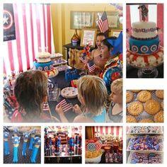 Captain America Birthday - Captain America