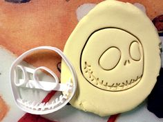 Jack Skellington Cookie Cutter great for cutting by CookiePrints, $9.99
