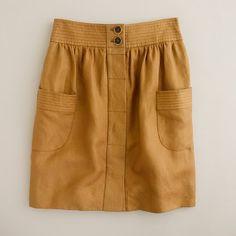 dorrie skirt [J.Crew]