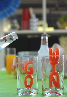 Go Team! Win Big - All while chillin' with some Smirnoff Ice.  Photo cred: @asubtlerevelry.