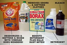 Borax and Lemon Juice – eHow How to make Natural Toilet Bowl Cleaners        Pour 1 cup of Borax into a small bowl.      Pour 1/2 cup of lemon juice over the Borax and gently stir with a spoon into a paste.      Flush the toilet to wet the sides, then rub the paste onto the toilet with a sponge.      Let it sit for 2 hours before scrubbing thoroughly. This is great for removing a stubborn stain, like a toilet bowl ring. Cleaner Recipes, Toilet, Household Cleaners, Kitchen Cupboards, Green Products, Natural Cleaning Solutions, Cleaning Supplies, Natur Clean, Natural Cleaning Products
