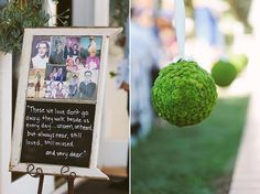 A Blue and Green California Wedding