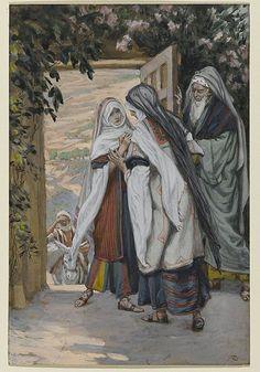 The visitation - illustration by James Tissot