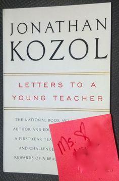Inspiring book for a new middle school teacher!