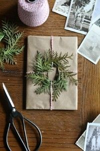 Unique DIY Christmas wrapping