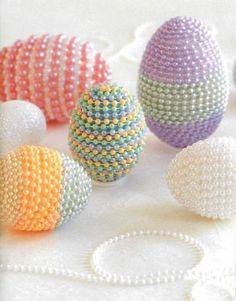 Easter bead eggs