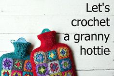 Let's crochet a granny hottie CAL on FoxsLane