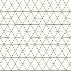 triangles fabric by markay on Spoonflower - custom fabric