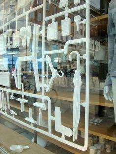 Muji store window