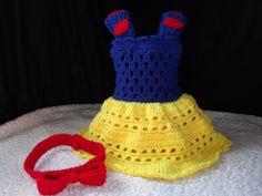 crochet photo prop Disney's Snow White by momscrochetcorner, $30.00