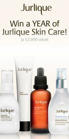 Need New #Skincare? Win a Year's Supply of #Jurlique! #beauty #contest VALID UNTIL APRIL 30
