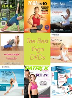 These yoga DVDs have you covered, no matter your goals!