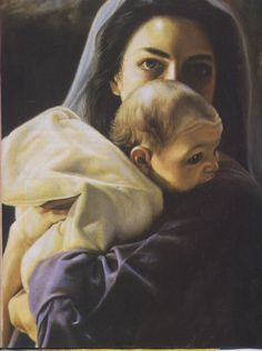 My favorite depiction of Mary and baby Jesus