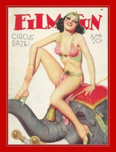 Cutie Circus Girl #VintageCircus