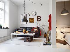 small apartments, living rooms, studios, white spaces, living spaces, white rooms, small spaces, homes, white interiors