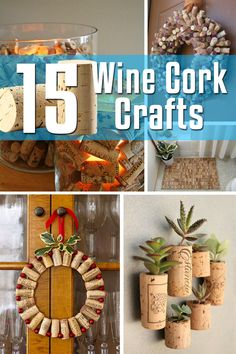 15 Wine Cork Crafts