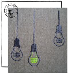 Broderie machine à télécharger - ampoules