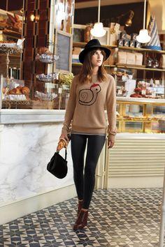 nylon magazine: Photo snails, sweaters, nylon magazine fashion, style, ankle boots, outfit, magazines, nylons, hat