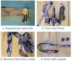 Kinda kool idea to recycle old ties
