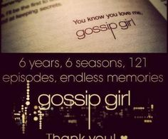 #Xoxo. Gossip Girl