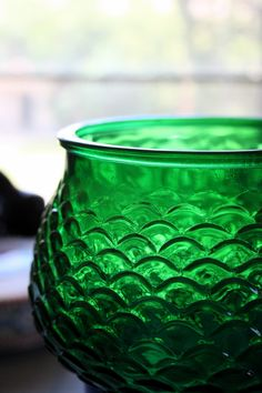 Something about green glass