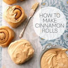 Cinnamon Rolls! Follow these step-by-step instructions to perfect this breakfast favorite.