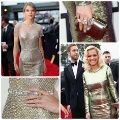 Grammy Gold: Red Carpet Best Dressed with Taylor Swift & Rita Ora- FocusOnStyle.com
