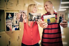 High school sweethearts! Love this!!