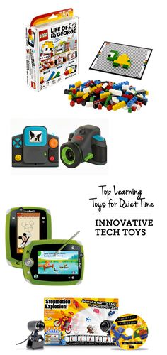 top learning toys for quiet time: innovative-tech selections - I'm so excited about that digital kid camera that projects the image onto the wall!